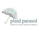 Plaid Parasol